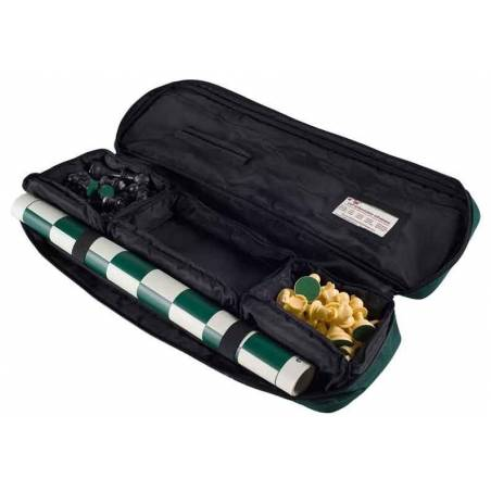 Bolsa de competición ajedrez para llevar tableros, piezas de viaje