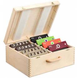 Box for save chess clocks 8 DGT 2010, XL or Easy