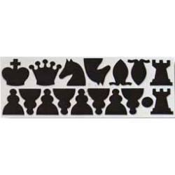Piezas de repuesto para tablero mural de ajedrez