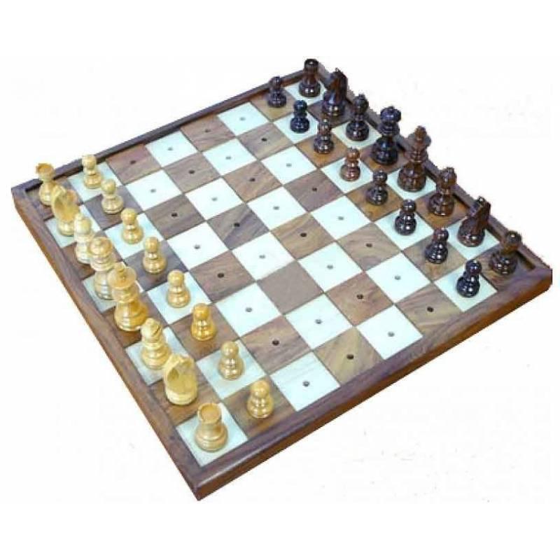 Conjunto ajedrez para invidentes