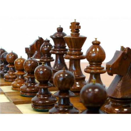 Chess set for blind people