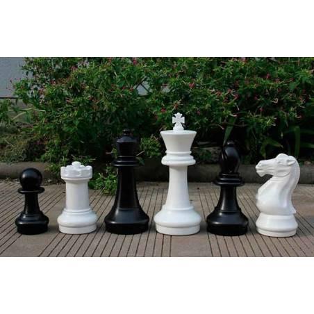 Conjunto ajedrez grande 40 cm.