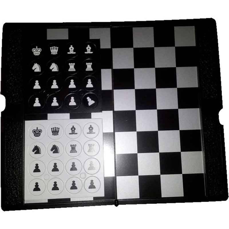 Cartera magnètica escacs peces planes