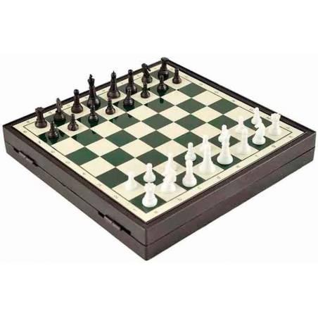 Juego de ajedrez magnético 2 en 1