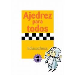 Libro ajedrez para todos. Iniciación 1