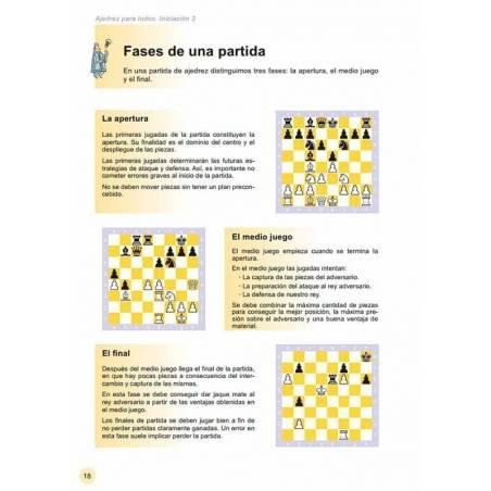 Escacs per a tothom. Iniciació 2