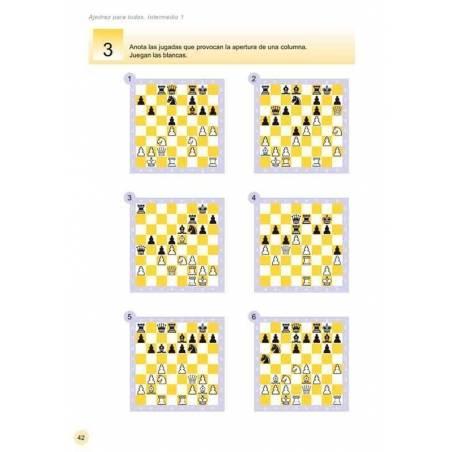 Escacs per a tothom. intermedi 1