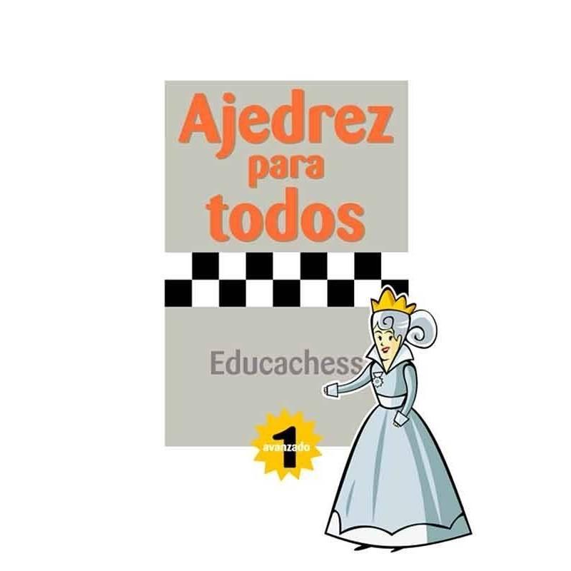 Llibre Escacs per a tothom. avançat 1
