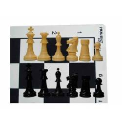 Chess Board and pieces for chessclubs top Staunton 5/6