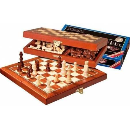 Conjunto ajedrez magnético Philos  29 cm.