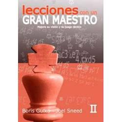 Libro ajedrez Lecciones con un gran maestro vol.2. Boris Gulko