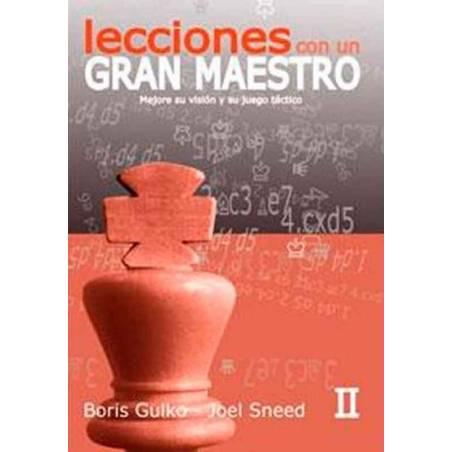 Llibre escacs Lliçons amb un gran mestre vol.2. Boris Gulko