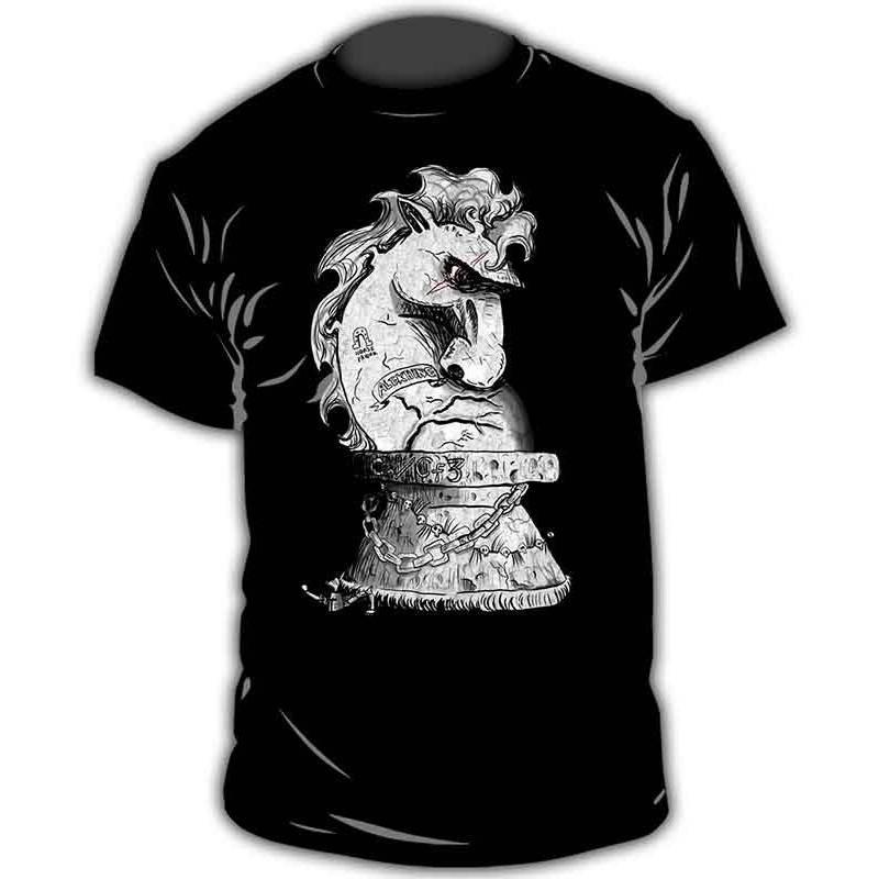 Chess T-shirt model 1
