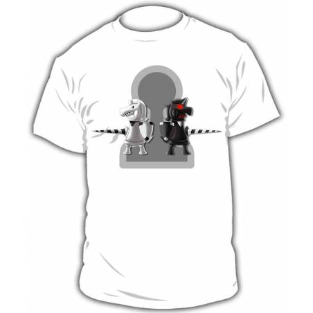 Camiseta ajedrez modelo 2