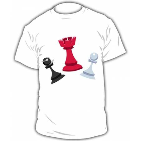 Camiseta ajedrez modelo 3