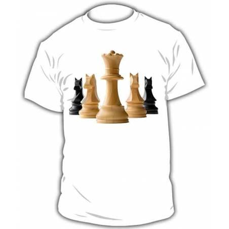 Camiseta ajedrez modelo 4
