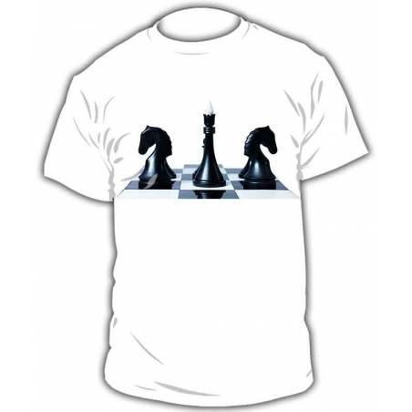 Camiseta ajedrez modelo 6