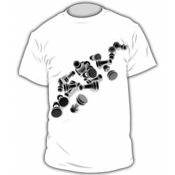 Chess T-shirt model 5