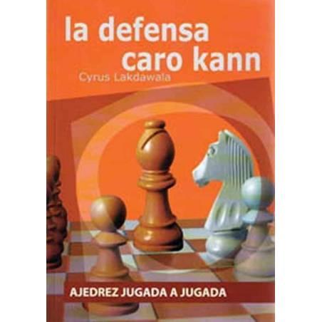 Libro Ajedrez jugada Defensa Caro Kann