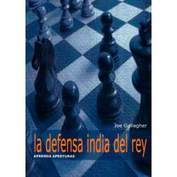 Aprenda aperturas. La defensa India de Rey