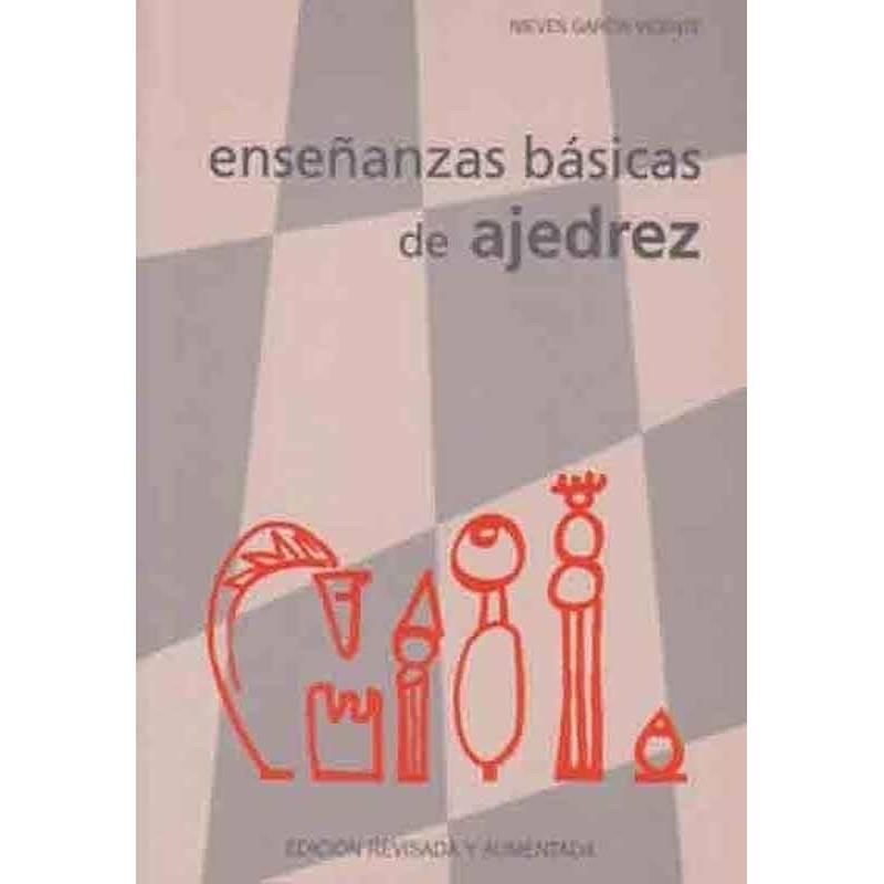 Libro ajedrez Enseñanzas básicas ajedrez