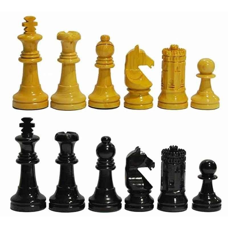 Chess wooden pieces Sevilla 87