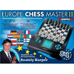 Conjunto Ajedrez electrónico Europe Chess Master II