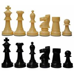 Chess plastic pieces Model Blister Staunton 5/6