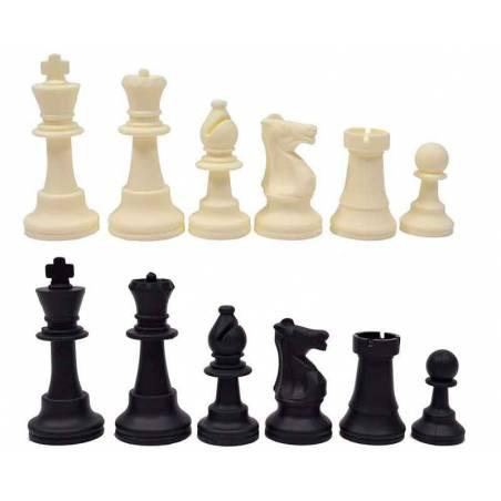 Piezas plastico ajedrez Silicona