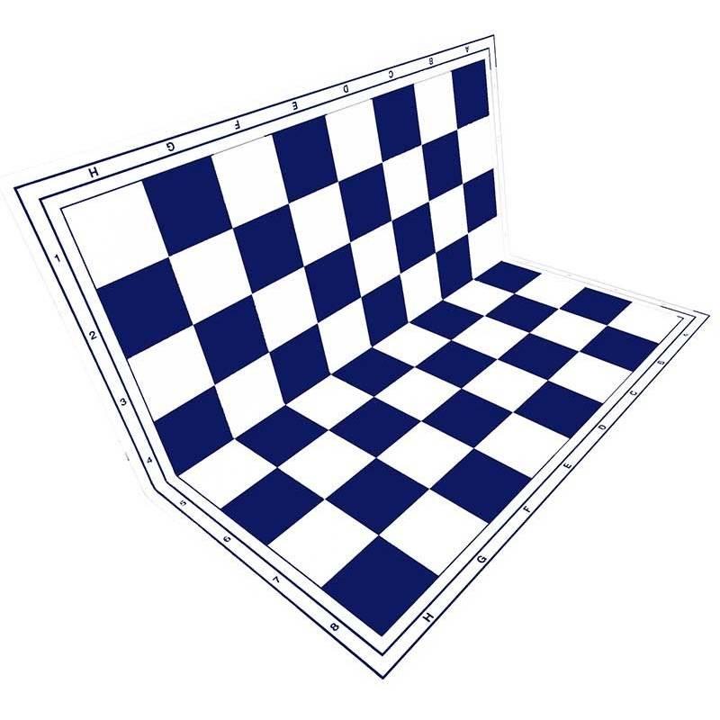plastic chess board  Colored folding hardtop