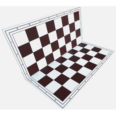 plastic chess board  Colored folding hardtop