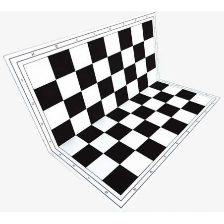 Tauler escacs de Plàstic Rígid plegable de colors