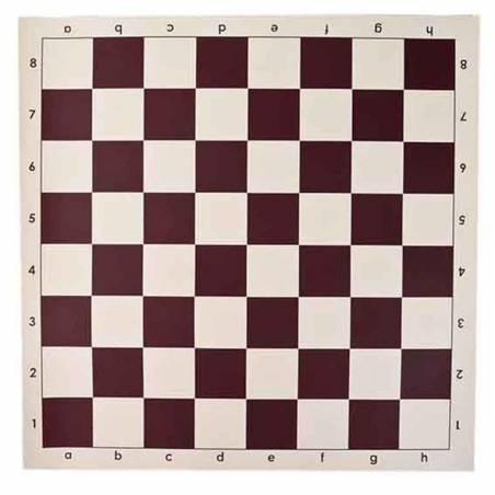 Roll vinyl chess board 43 cm.
