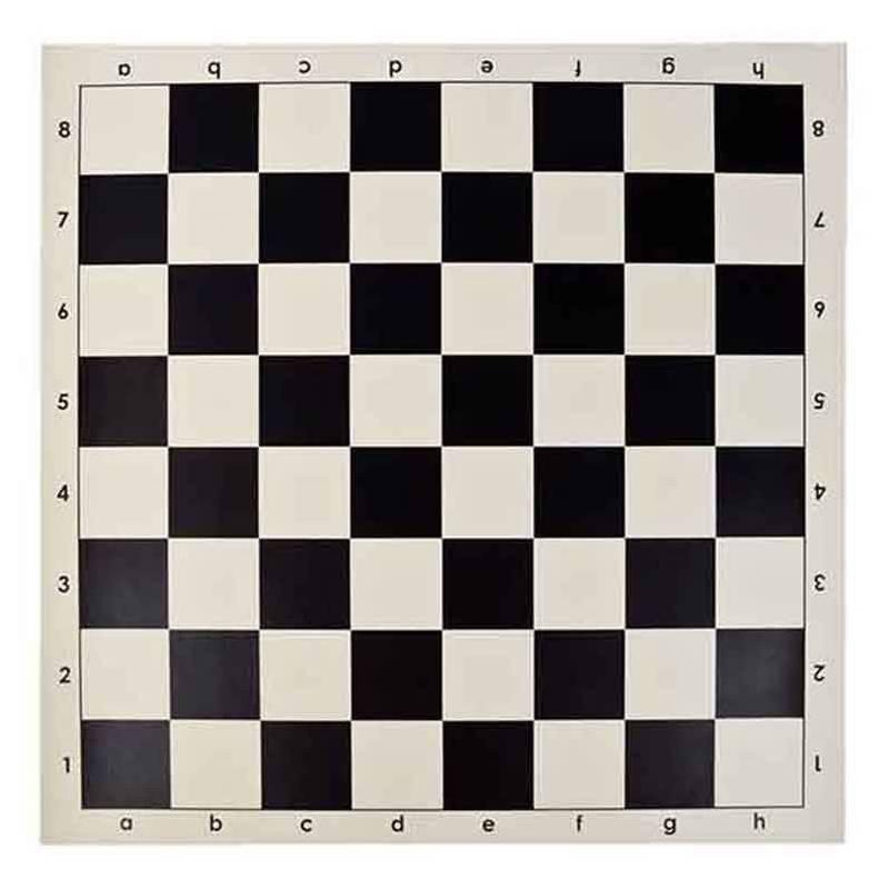 Tablero ajedrez enrollable vinilo 43 cm.