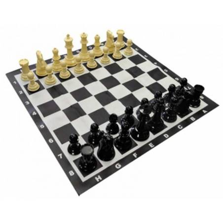 Conjunt escacs gran Rei 20 cm.