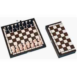 Conjunto ajedrez de viaje en 3 colores