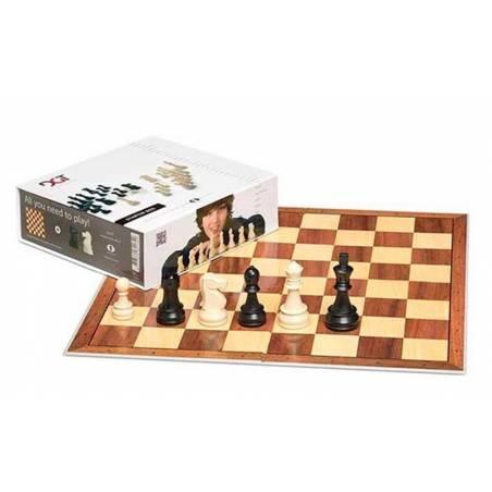 DGT Chess Starter Box (board, parts, cd and digital clock)