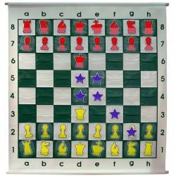 Chess Wallboard cardboard pieces