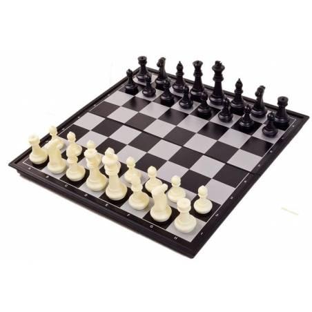 Conjunt escacs i dames magnètic 25 cm.