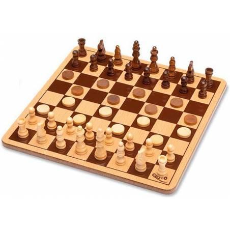 Conjunto ajedrez metal box