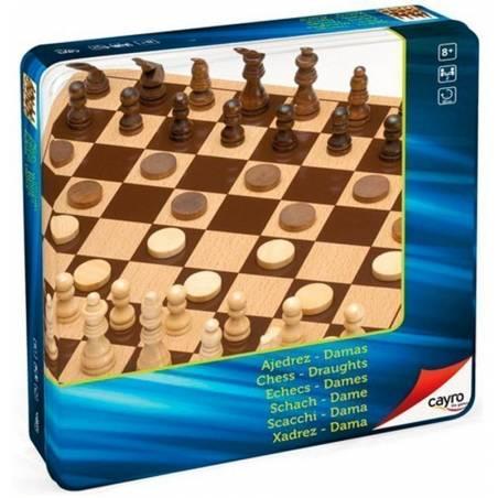 Conjunt escacs metal box