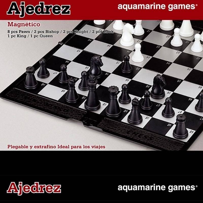 Cartera magnética ajedrez