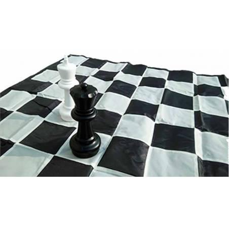 Tablero de lona ajedrez gigante