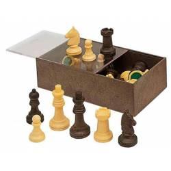 Sencillas piezas de ajedrez nº3