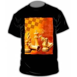 Camisetas con diseños ajedrez modelo 7