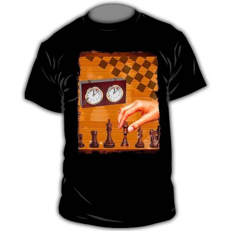 Camiseta ajedrez modelo 9