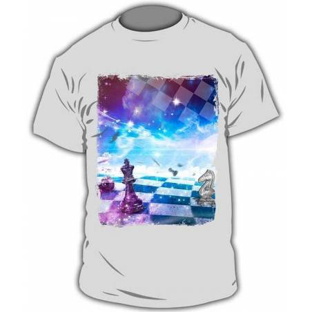 Camisetas con diseño ajedrez modelo 10