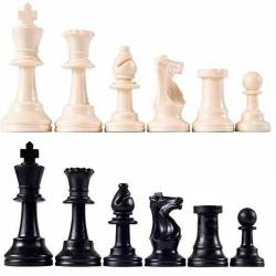 Plastic chess pieces colleges