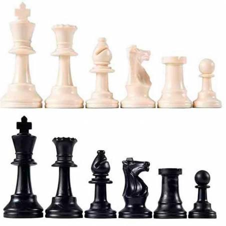 Peces escacs plàstic ideal per a escoles
