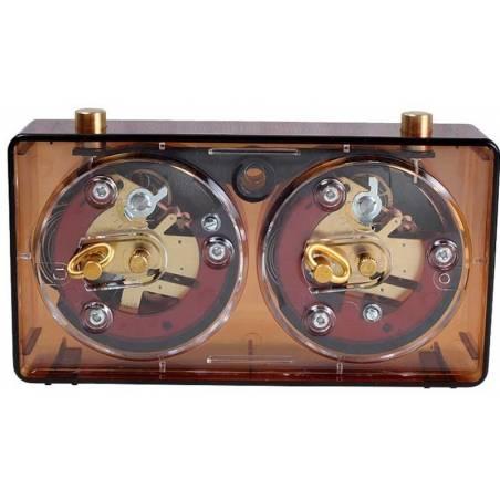 Reloj analogico ajedrez BHB Transparente de colores